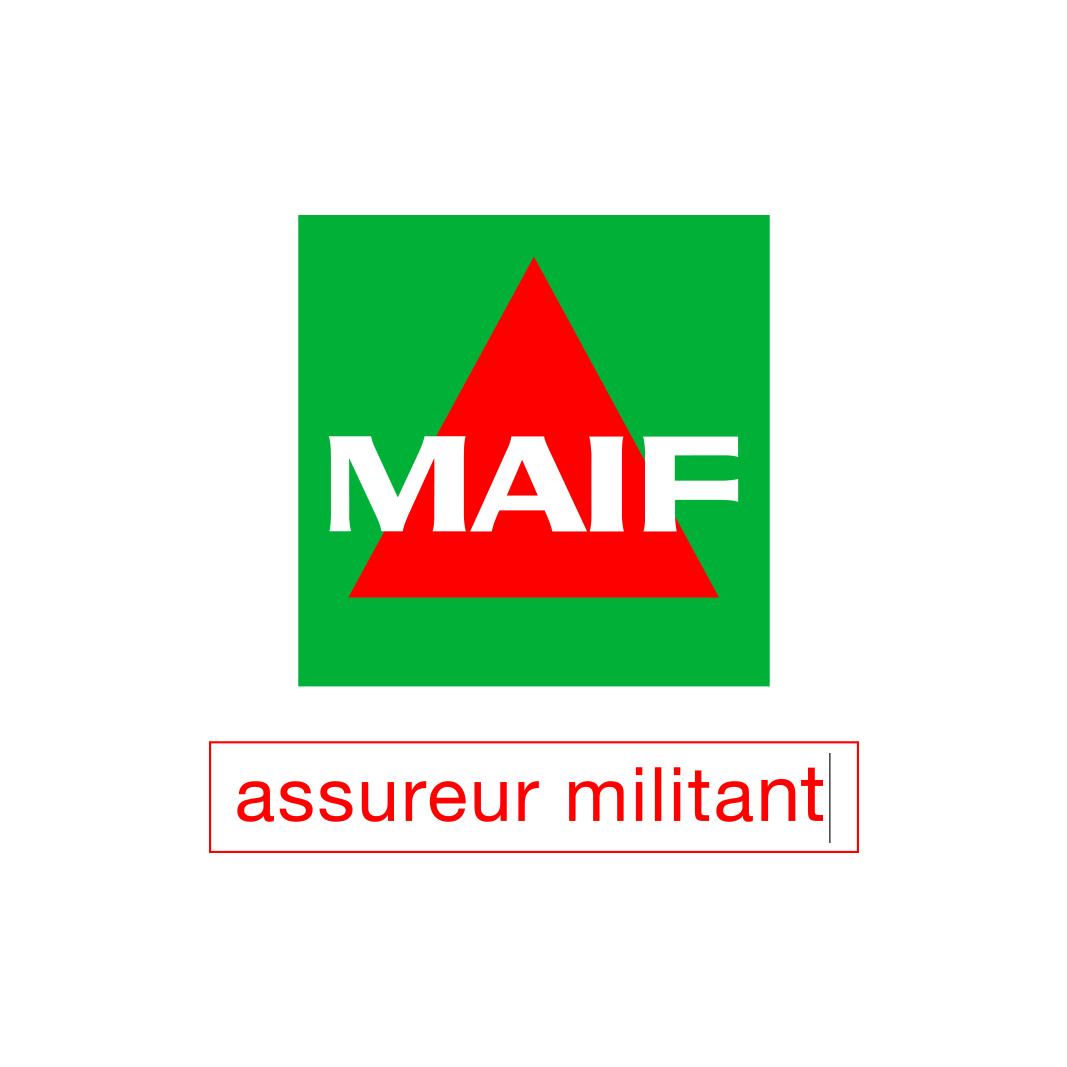 Logo MAIF + Signature curseur