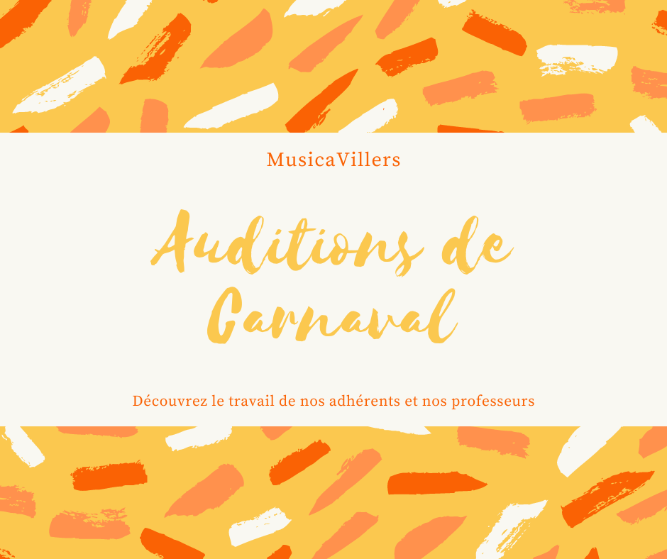Auditions-carnaval